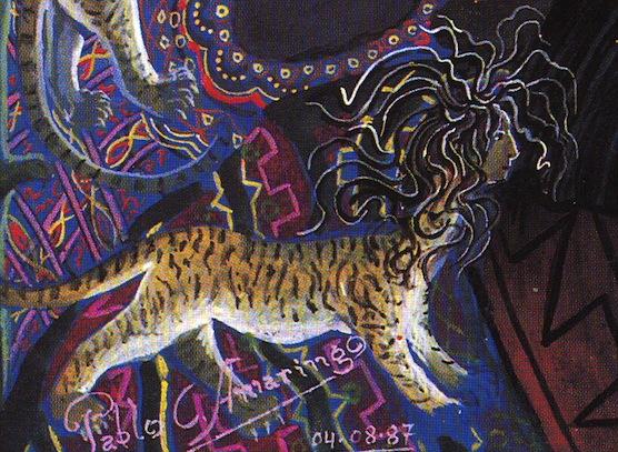 esmagando tigre